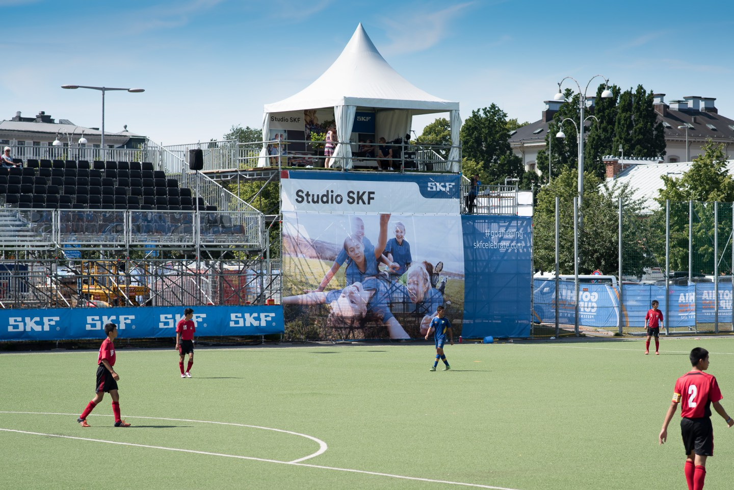 Gothia Cup SKF Gothenburg 2016 Front Row Exhibitions www.frontrowex.se