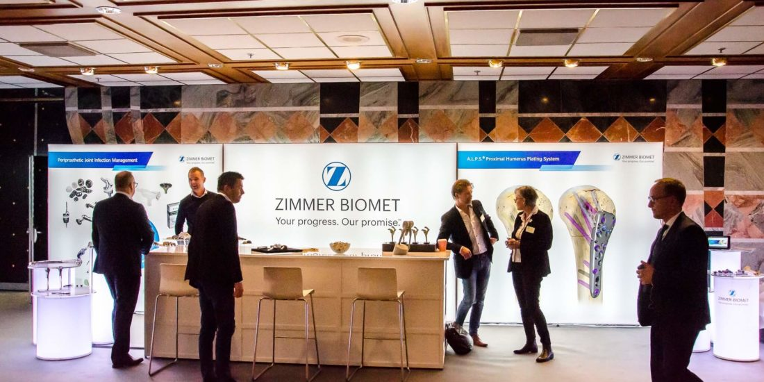 T3 Systems Zimmer Biomet NOF Oslo 2017 Front Row Exhibitions