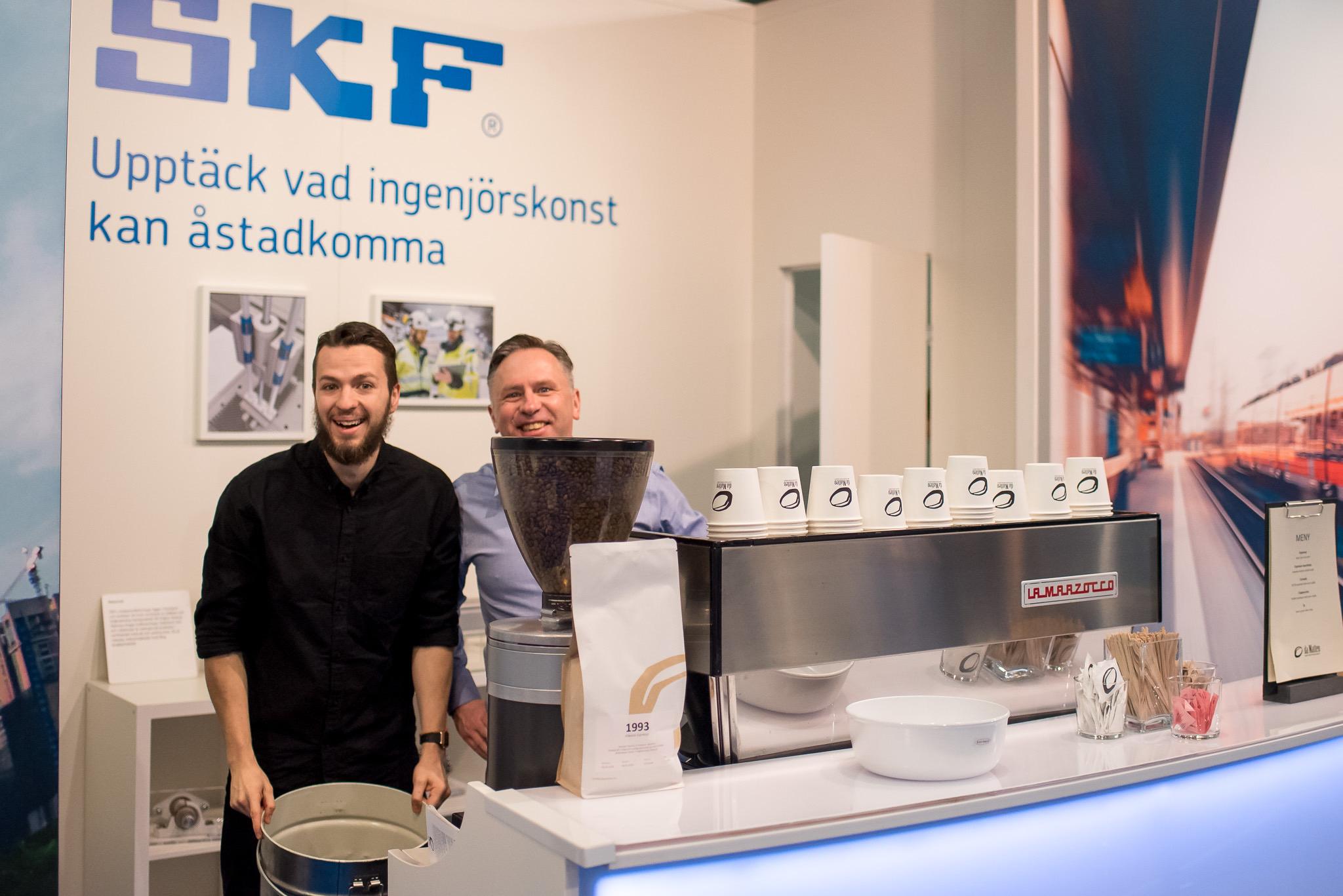LED Bardisk Underhållsmässan 2018 SKF Underhållsmässan 2018 Photography Malin Lagerqvist www.frontrowex.se