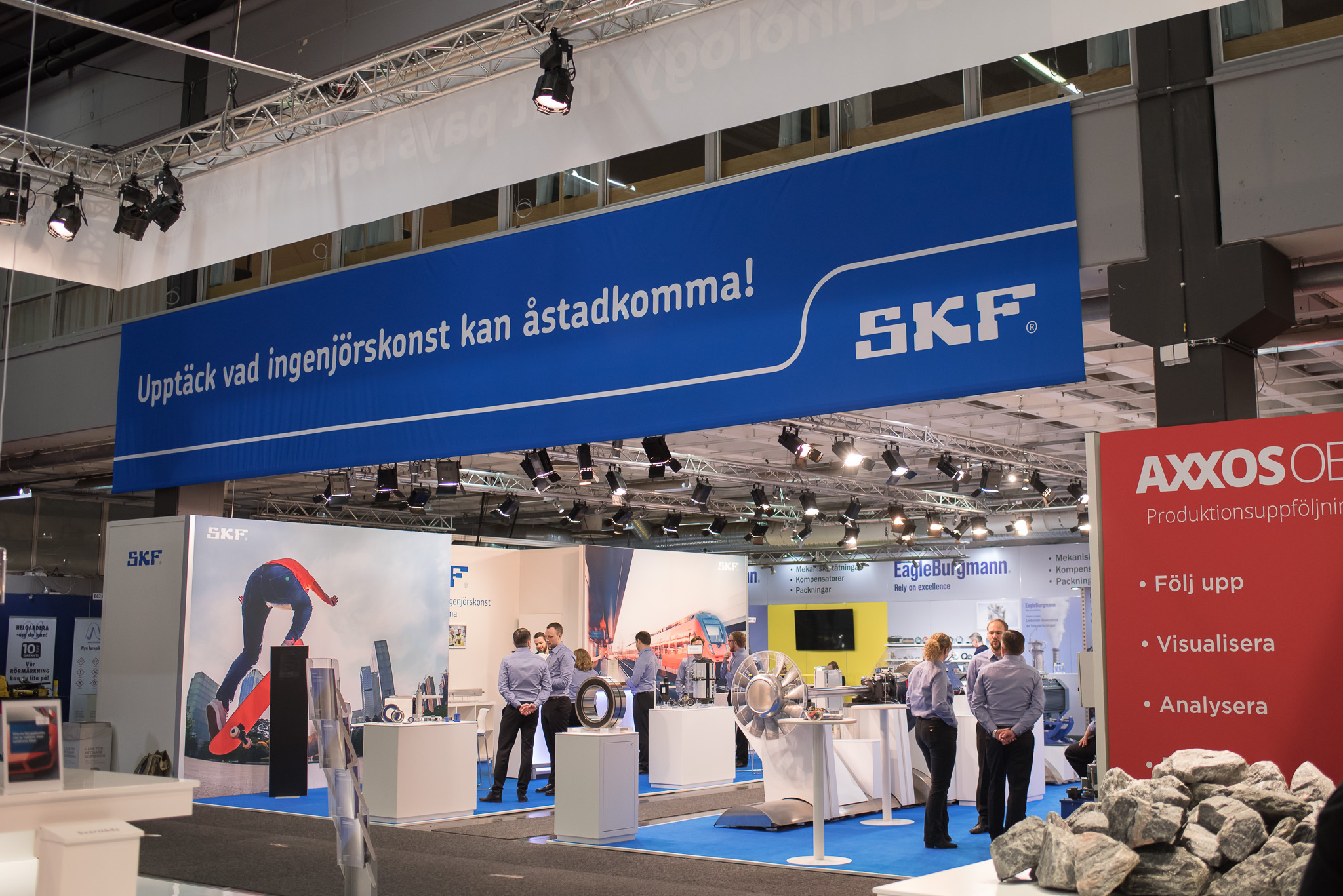 Underhållsmässan 2018 SKF Underhållsmässan 2018 Photography Malin Lagerqvist www.frontrowex.se