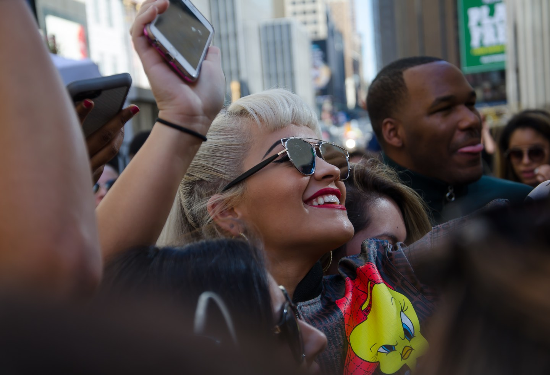 Modeveckan Rita Ora New York 2015