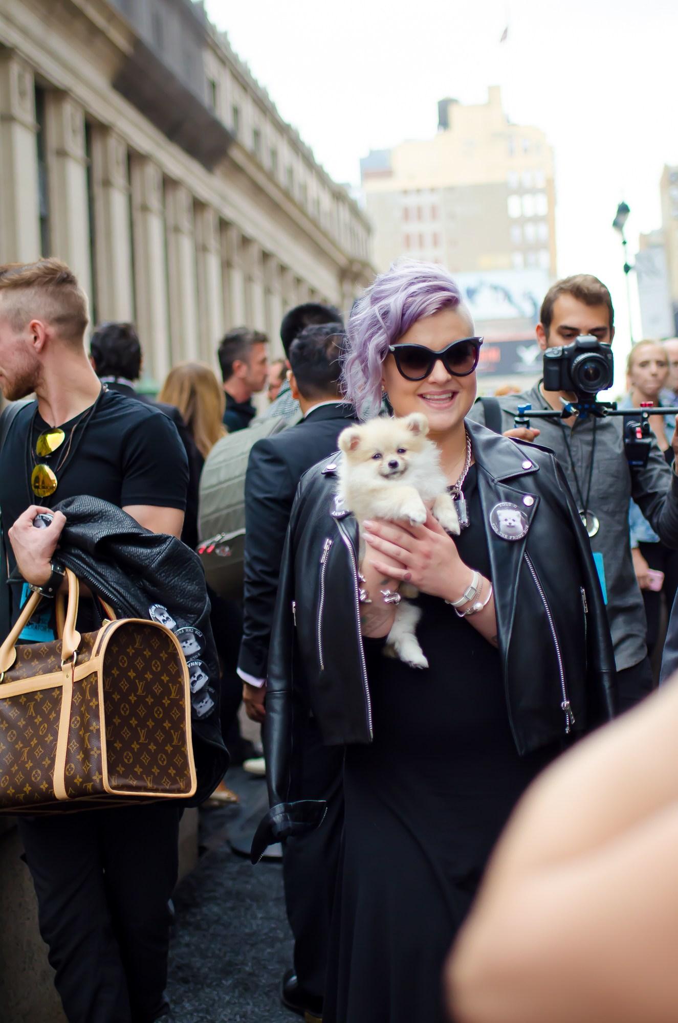 Modeveckan Kelly Osbourne New York 2015