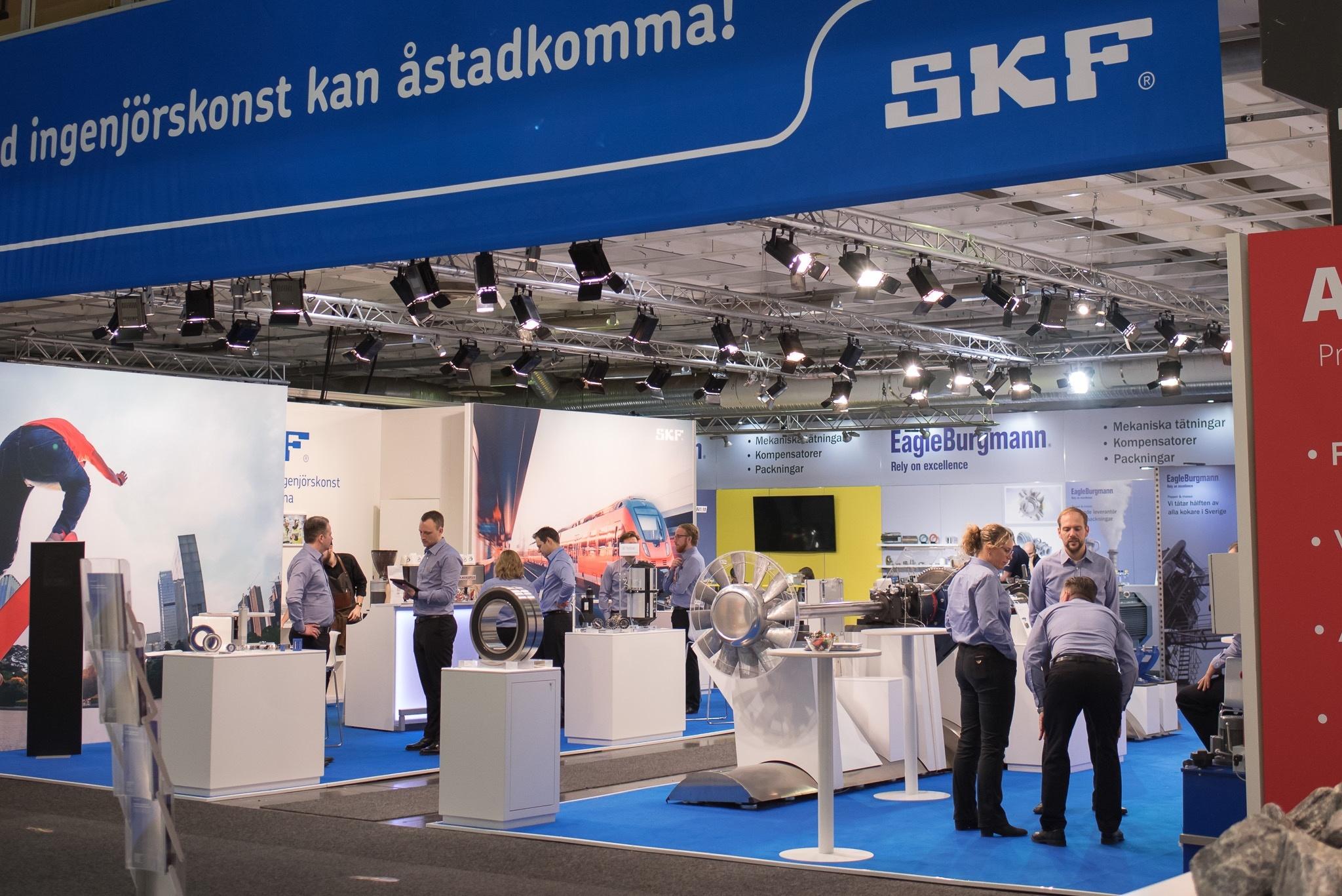 SKF Underhållsmässan 2018 Photography Malin Lagerqvist www.frontrowex.se
