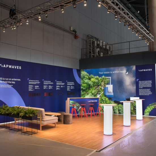 Gapwaves Mobile World Congress 2019 Barcelona Front Row Exhibitions