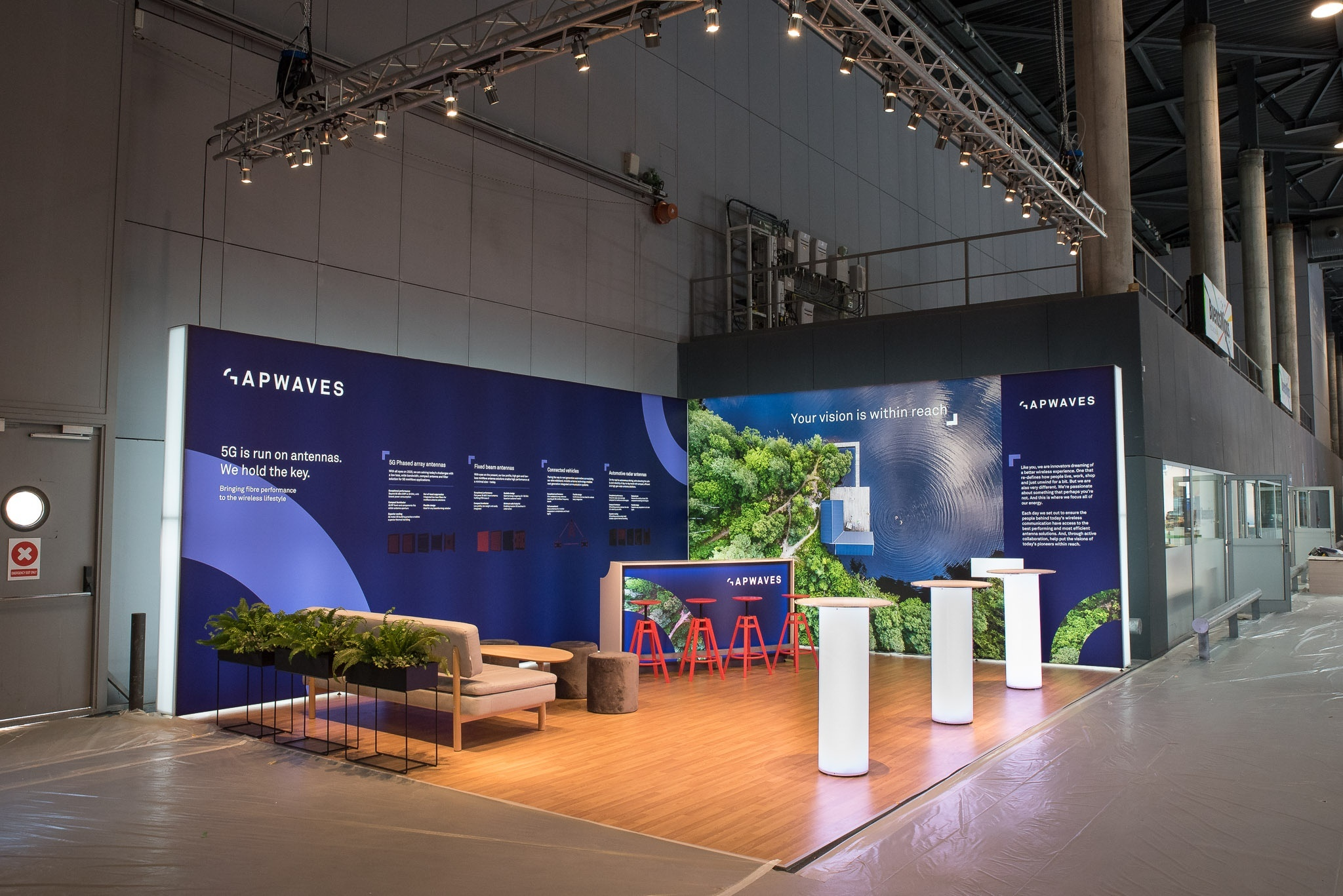 Gapwaves Mobile World Congress 2019 Barcelona Front Row Exhibitions