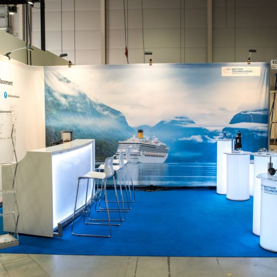 Barpallar SKF Motion Technologies Nor Shipping 2019 Monter Maxibit Stage Front Row Exhibitions