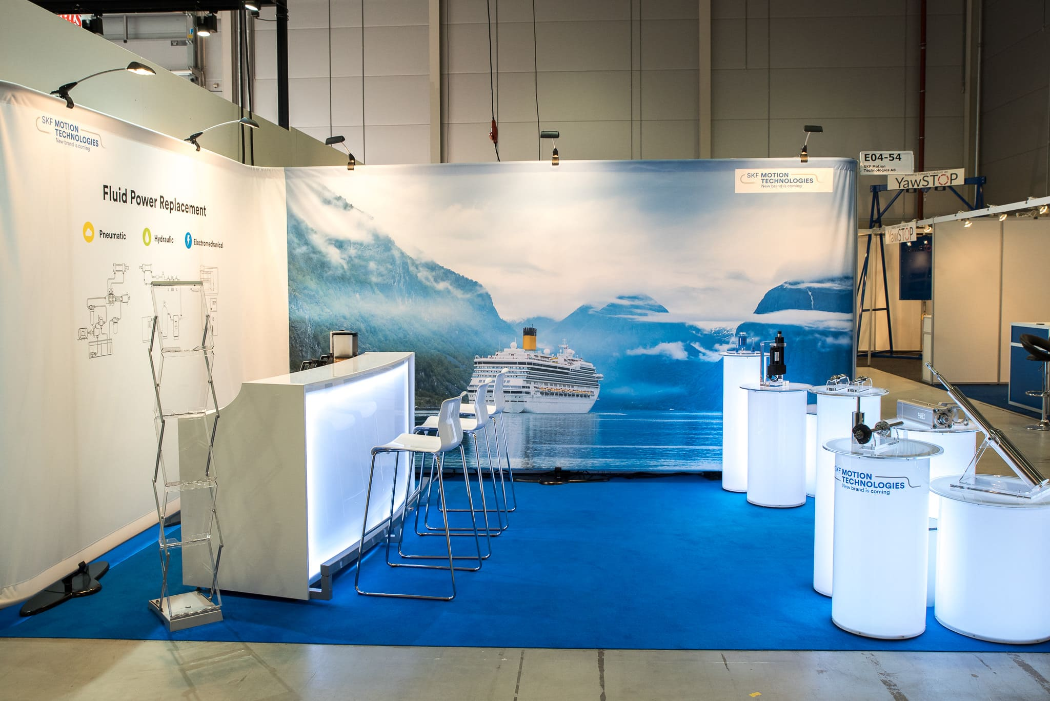 Barpallar SKF Motion Technologies Nor Shipping 2019 Monter Front Row Exhibitions