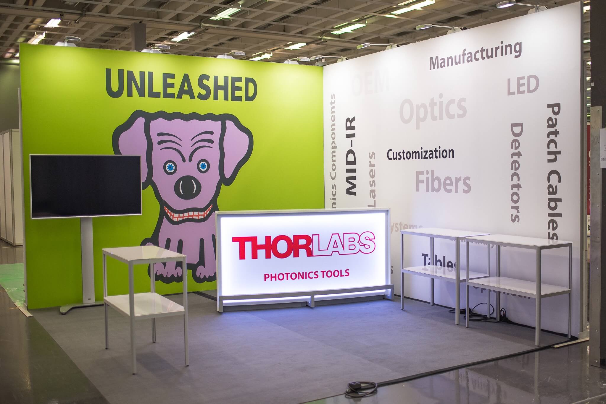 Thorlabs LED Bardisk Front Row Exhibitions