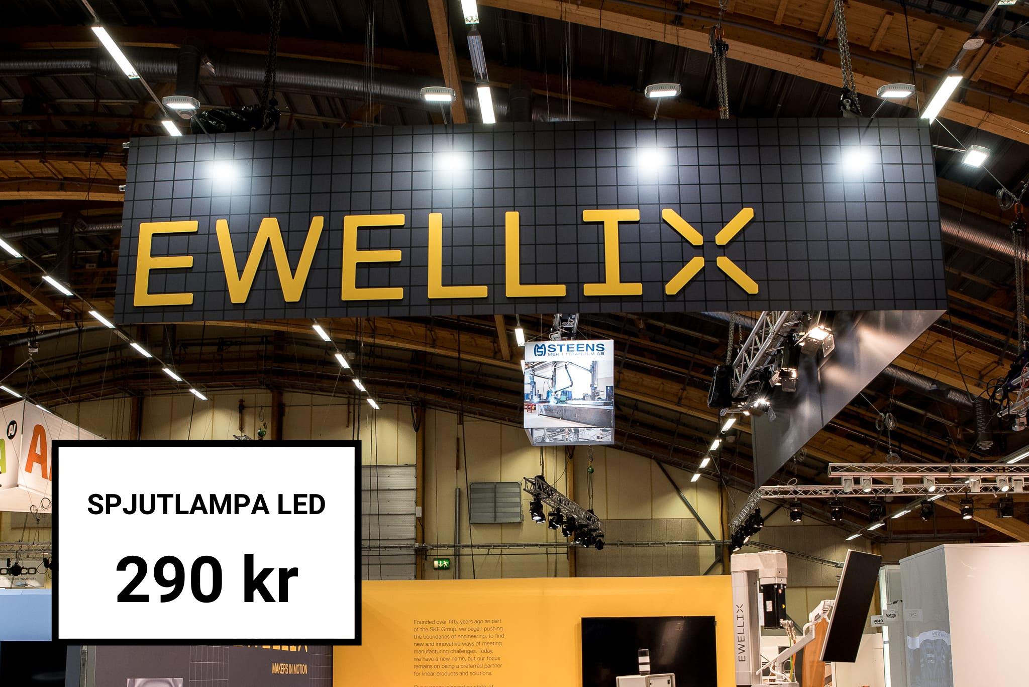 Hyr av oss Spjutlampa LED Belysning Front Row Exhibitions
