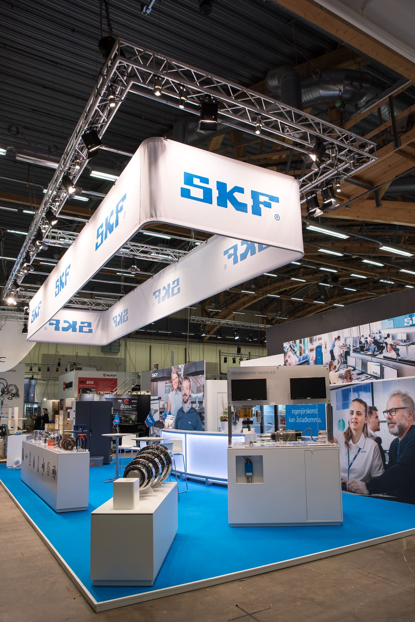 Maxibit Vepa SKF Monter Elmia Subcontractor 2019