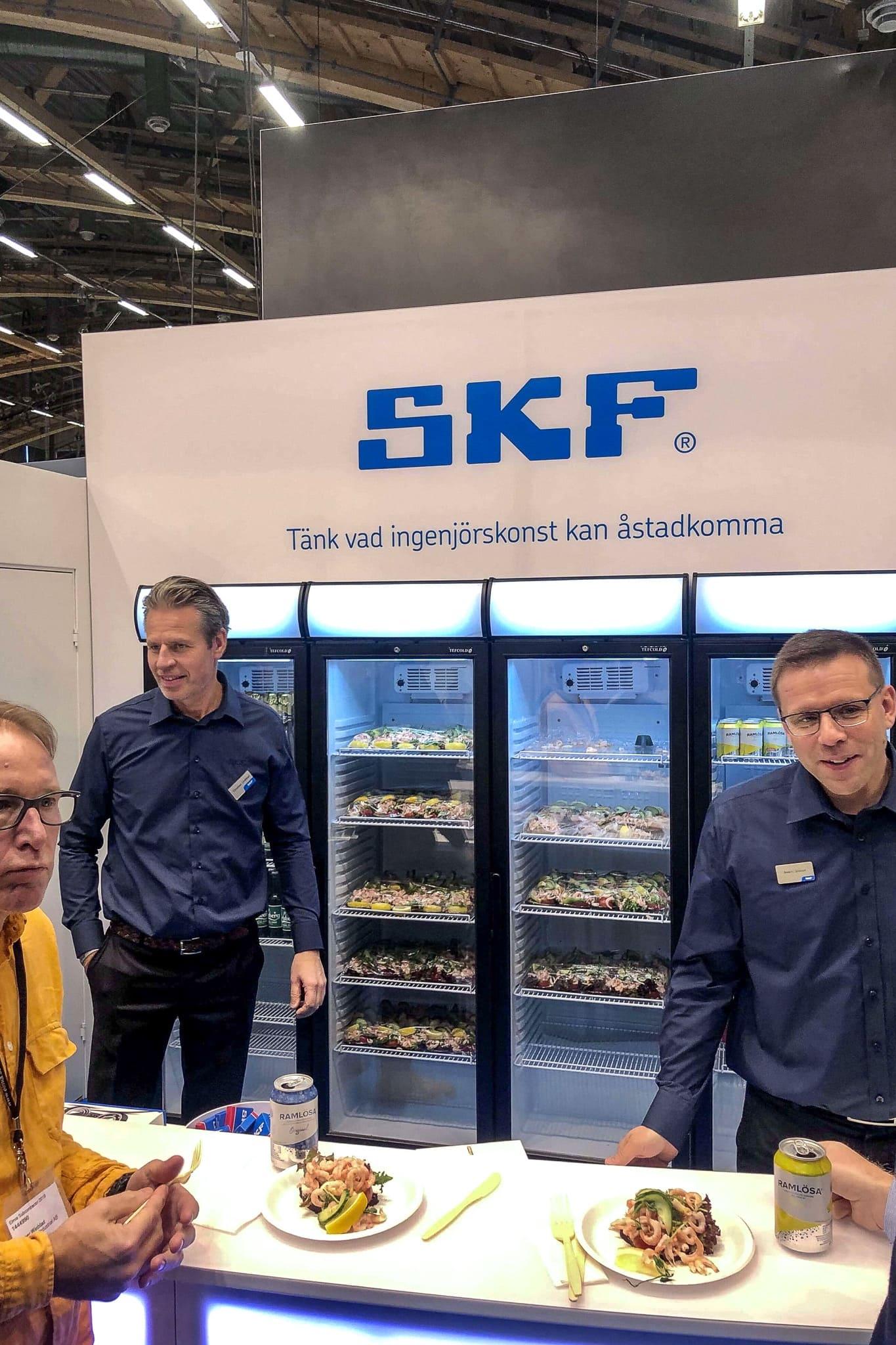 SKF Sverige Räkmackor Subcontractor Elmia 2019