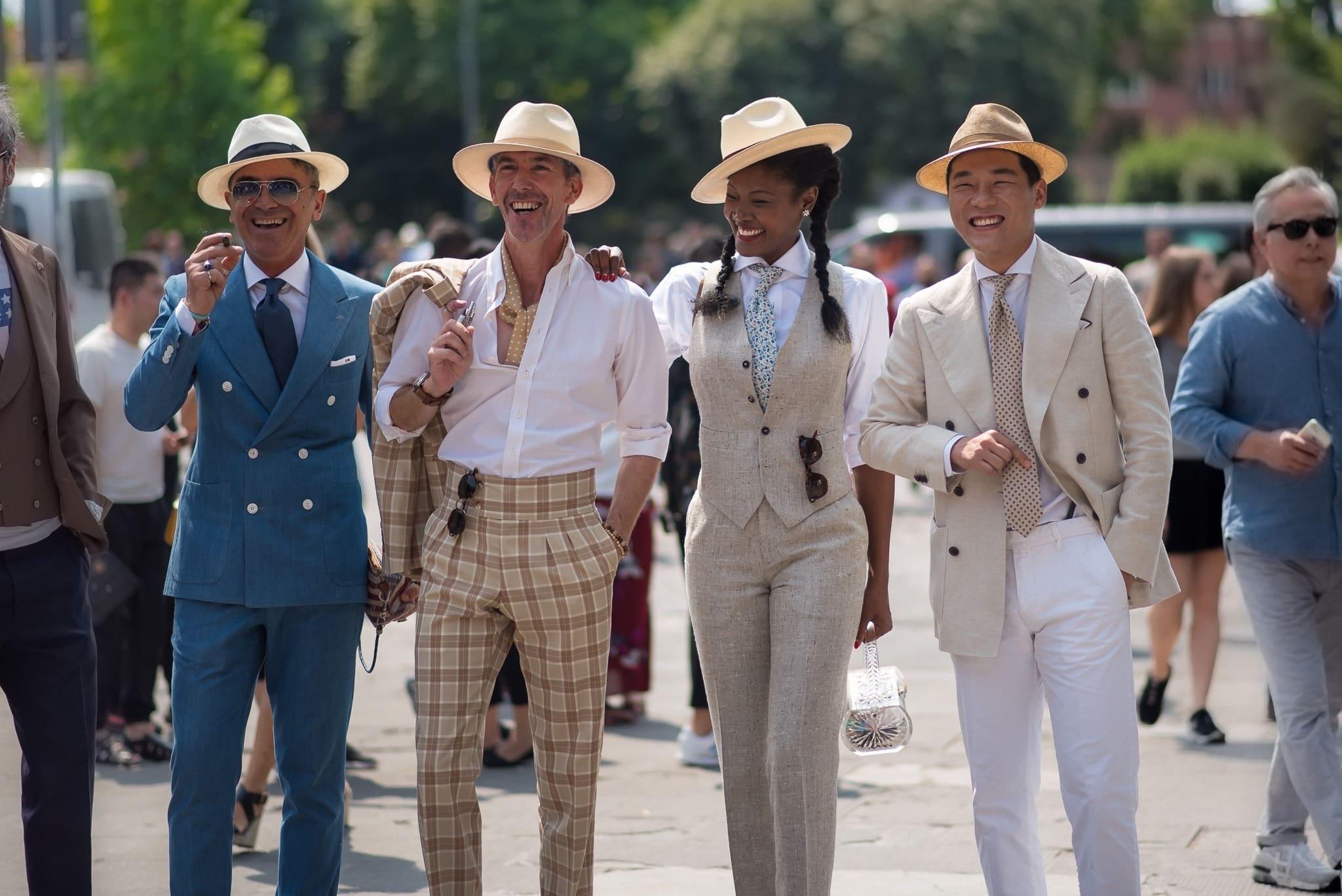 Klä dig för framgång Pitti Uomo Florens 2017 Front Row Exhibitions